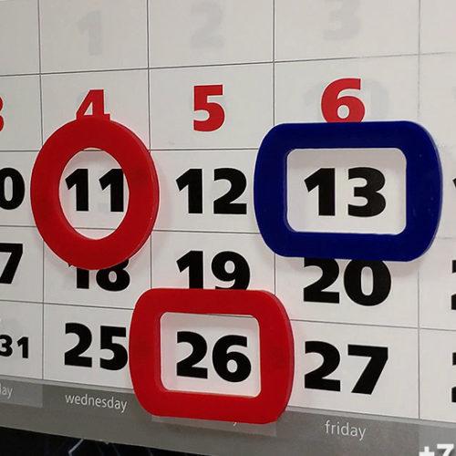 Курсоры для календарей